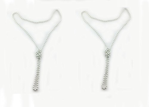 BeautyMood White Necklaces Flapper Accessory product image