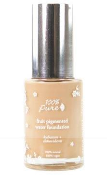 Organic Liquid Foundation, 100% Pure Sheer Water Foundation, White Peach