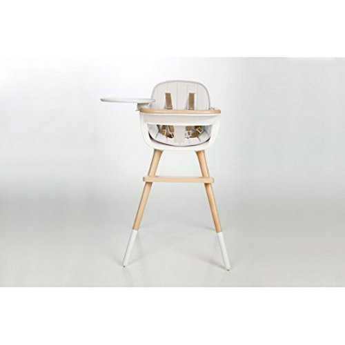 Micuna OVO MAX LUXE High Chair with Seat Fabric in White