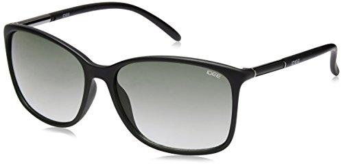 Idee Gradient Square Women's Sunglasses – (IDS2043C3SG|58|Green Gradient Color)