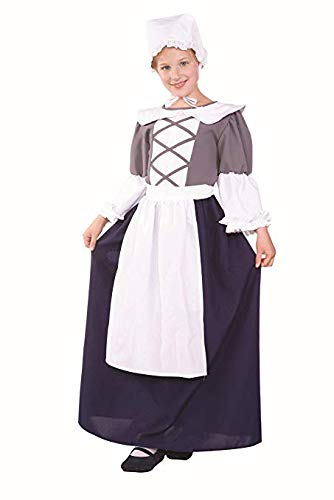 Peasant Villager Costumes - RG Costumes Colonial Peasant Girl, Child Medium/Size