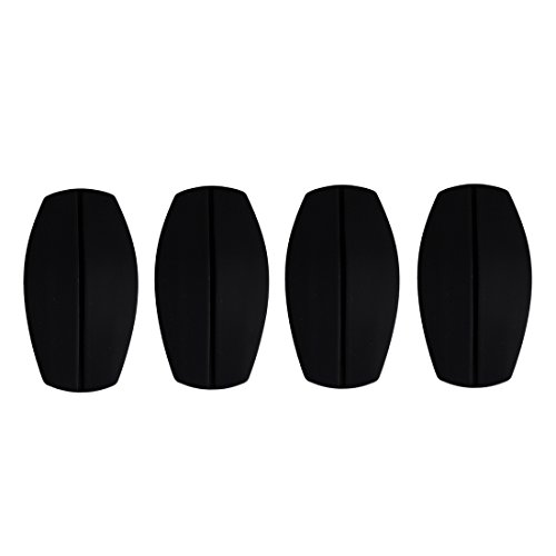 UPC 612032555795, Andux 2 Pairs Silicone Bra Shoulder Pads Invisible Impact & Pain Relief Bra Shoulder Pads Non-slip Shoulder Pads NYDDJ-01 (Black)