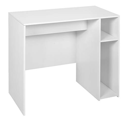 Niche PDS3116WH Mod Desk with No-Tools Assembly, 31-inch, White Wood - Regency Writing Desk