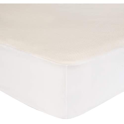 AmazonBasics Conscious Series Cool Touch Rayon Bamboo Mattress Protector Twin XL