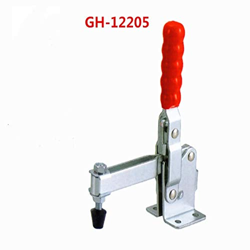 Ochoos New Hand Tool Toggle Clamp Vertical Clamp GH-12205 - (Size: 1PCS)