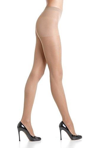 OMSA Attiva Italian Tights - 40 den (S-2 Small, Caramello - - 007 Nude