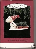 A Tree For Snoopy 1996 Hallmark Ornament (Ornament Christmas 1996)