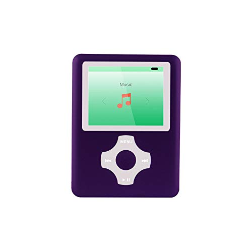 Ultrave MP3/MP4 Player with 16G SD Card, Portable Lossless Sound Player, Rechargeable MP3 Player, Also Support Ebook, Image, 1.8 inches LCD Screen MP3 Music Player -Green