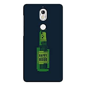 Cover It Up - Happy Hour Pixelated nokia 7 Hard Case