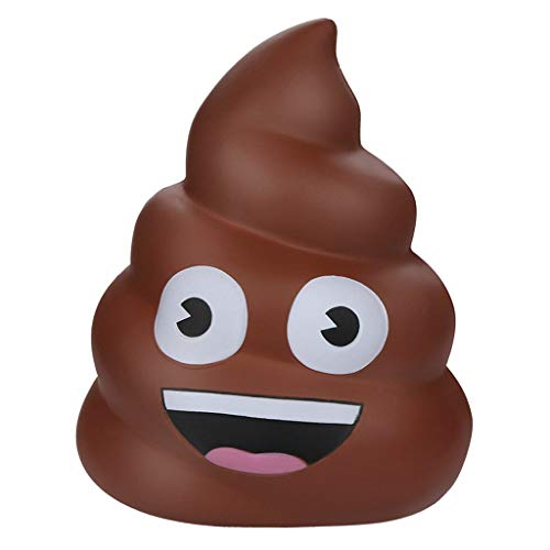 Mikilon Squishies, Poop Emojis Stress Balls - Nothing a Little Poo Can't Make Better - Stress Relief Toy for Adults and -
