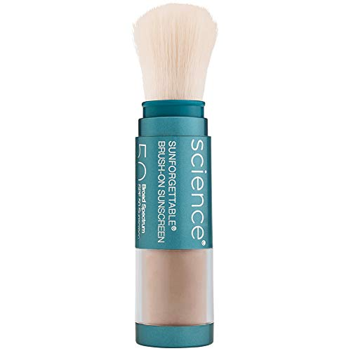 Colorescience Brush-On Sunscreen, Sunforgettable Mineral Powder for Sensitive Skin, Broad Spectrum SPF 50 UVA/UVB Protection reviews