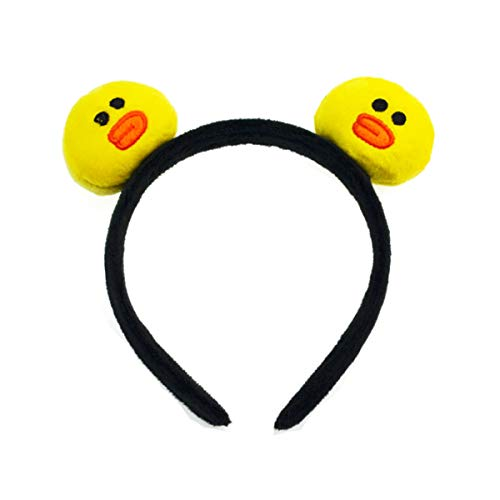 3D Sally Chicken Ear Headbands, Cute Animal Costumes Hairband, Cartoon Hair Accessories for Halloween Party -
