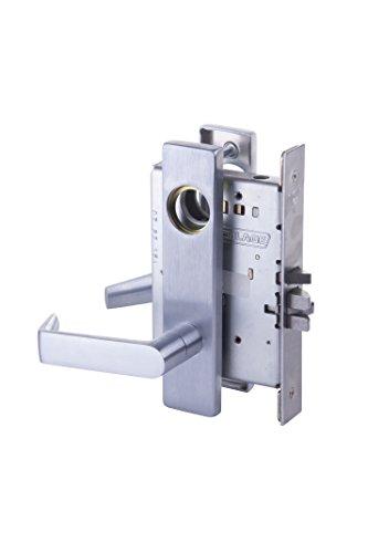 Schlage L9071L 06L 626 L Series Classroom Security, Brass (Brass Classroom Lock)