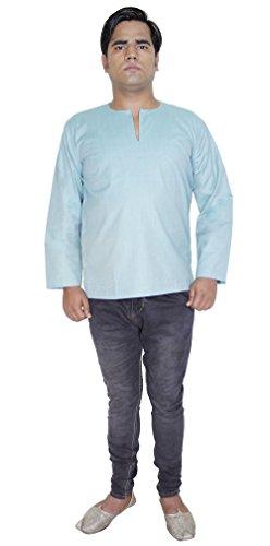 T-shirt à manches longues en coton Coupe décontractée vêtements de yoga indien