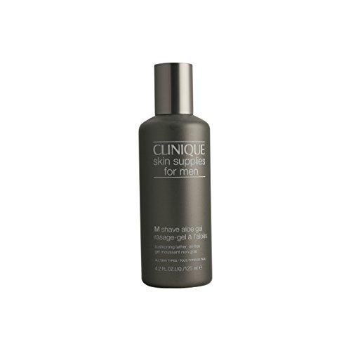 CLINIQUE by Clinique Skin Supplies for Men:M-Shave Aloe Gel-/4.2OZ for Men (Men M Shave Aloe Gel)