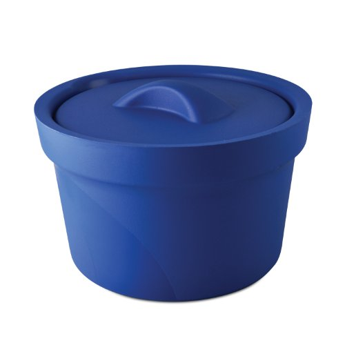 Bel-Art Magic Touch 2 High Performance Blue Ice Bucket; 2.5 Liter, with Lid (M16807-2001)