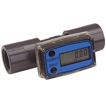 Great Plains Industries TM050-N Flowmeter/Totalizer, 1 to 10 GPM; 1/2'' NPT(F) process connection