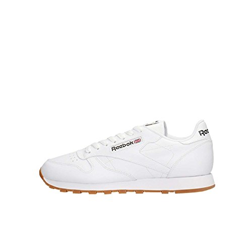Reebok Classic, Zapatillas de Gimnasia para Niños Weiß (Intense White/Gum)