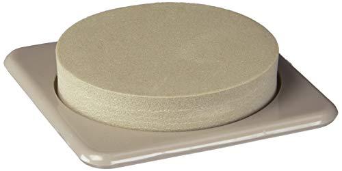 Shepherd Hardware 9336 3-Inch Reusable, Slide Glide Furniture Mover Pads, 4-Pack, Tan