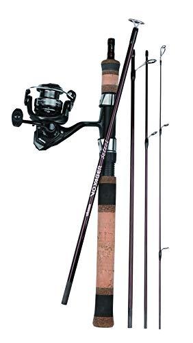 Okuma Fishing Tackle VSX-605M-20 Voyager Select Travel Kit Spinning Combo, ()