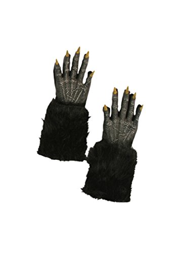 Werewolf Black Furry Hands (Furry Costumes Wolf)
