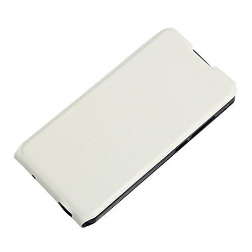 Funda Vodafone Smart Platinum 7,Manyip Caja del teléfono del cuero,Protector de Pantalla de Slim Case Estilo Billetera con Ranuras para Tarjetas, Soporte Plegable, Cierre Magnético E