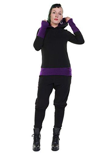 ti para 3elfen Purple Hoodie Black Winter en Magic Hecho Berlin Woman W44aBqwHY