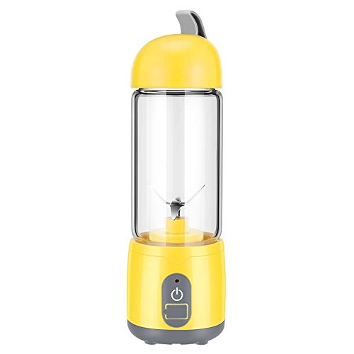 Household stirrer/squeezer Machine KJ-60U02 Portable USB Charging Food Processor Electric Juicer, Capacity : 420ML, Household stirrer/squeezer Machine