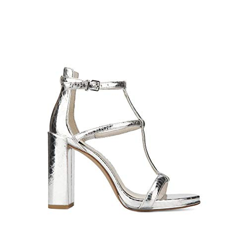 Kenneth Cole New York Deandra Metallic Leather Ankle Strap - Kenneth Metallic Cole Sandals