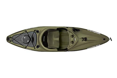 Sun Dolphin Excursion SS Sit-in Fishing Kayak (Olive, 10-Feet)
