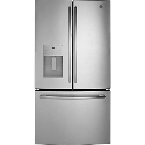"GE GFE26JSMSS 36"" Energy Star French Door Refrigerator with 25.6"