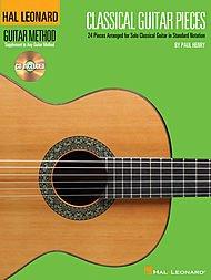 Book Andante Music Guitar - Hal Leonard Classical Guitar Pieces - The Guitar Method Supplement (Book/CD)