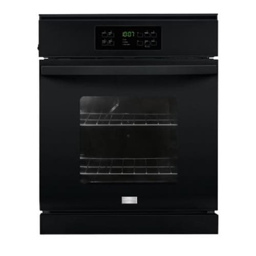 Frigidaire FFEW2425QB 24″ Single Electric Wall Oven with 3.3 cu. ft. Capacity Vari-Broil Temperature Control Dual Radiant Baking and Roasting Ready-Select Controls and Self-Cleaning option in