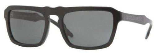 Burberry BE4119 Sunglasses-3315/87 Black (Gray Lens)-56mm