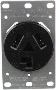 5207 Single-Flush Dryer Receptacle (3 wire)