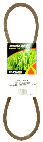 Maxpower 336359 Mower Belt for MTD/Cub Cadet/Troy-Bilt 7742-0241A, 754-0241, 754-0241A, 754-04057, 942-0241A, 954-0241, 954-0241A and More (Parts For Troy Belt Lawn Mower)