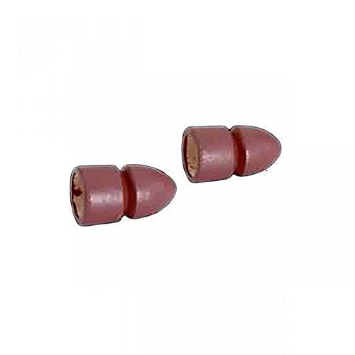 Dia Bullet (Curtain Rods Red Pine Curtain Rod Pair Of Bullet Finial 3/4