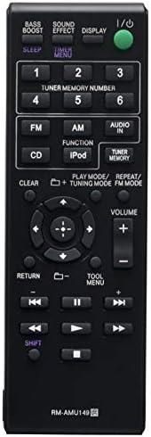 RM-AMU149 交換用リモコン ソニー オーディオシステム CMT-V10IP用