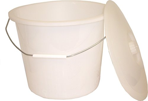 ConvaQuip 770 Universal Commode Pail, Tall