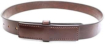 """Bullhide Belts Men's Western Basket Weave Dress Leather Belt 1-1/2"""" Belt Width 32 Rich Brown"""