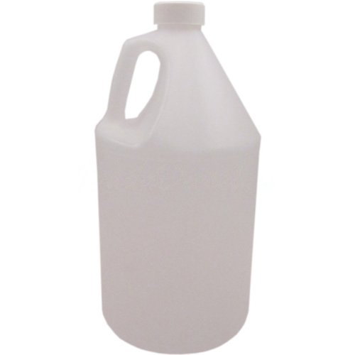 4 x 1 Gallon HDPE Jugs with 38mm Child Safety F217 Lined Cap Food Grade Natural Color Clear Transluscent Plastic