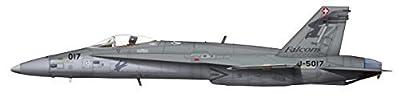 Hobby Master, F/A-18C Hornet, J-5017, 17 Staffel Falcons, 1:72 Die Cast Model, HA3527 by Hobby Master Military Aircraft