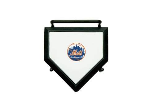 New York Mets Slide - MLB New York Mets Home Plate 4-pack Coaster Set