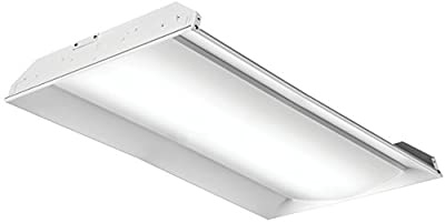 Lithonia Lighting 2FSL4 48L EZ1 LP840 LED Architectural Troffer, 4', White