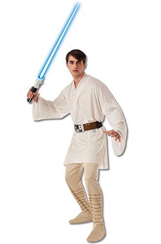 [Rubie's Costume Men's Star Wars Adult Luke Skywalker, Multicolor, X-Large] (Jedi Costume Amazon)