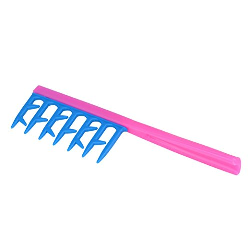 DDLBiz Comb Hair Styling Comb Card Gear Comb Shaped Plastic Big Tooth Comb