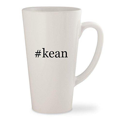 Price comparison product image #kean - White Hashtag 17oz Ceramic Latte Mug Cup