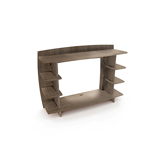 Legare Furniture 36-Inch Desk Hutch, Grey Driftwood by Legare