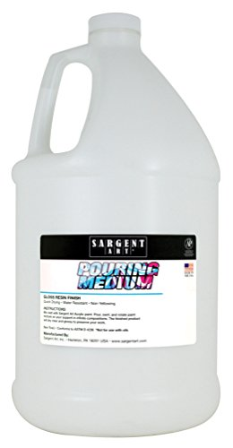Sargent Art 22-8827 Pouring Medium Acrylic, 128 oz, by Sargent Art