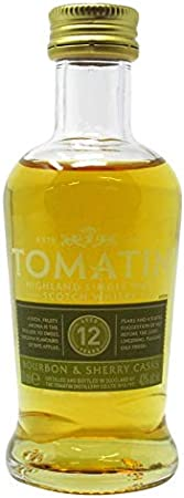 Tomatin - Highland Single Malt Miniature - 12 year old Whisky